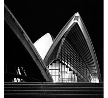 Sydney Opera House At Night Photographic Print