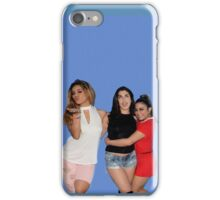 Lauren Jauregui, Dinah Jane & Ally Brooke (blue background) iPhone Case/Skin