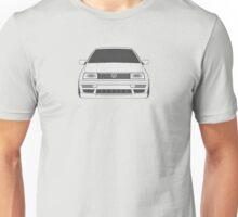 Volkswagen Jetta III Front Unisex T-Shirt