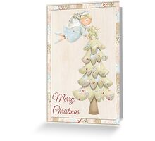 """Tree Topper"" Greeting Card Greeting Card"