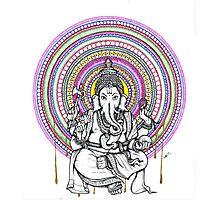 Elephant Shiva Photographic Print