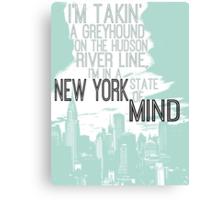Billy Joel New York Canvas Print
