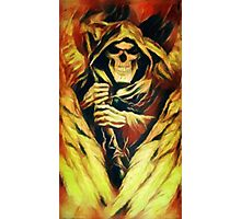 Fiery Winged Reaper Photographic Print