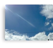 wire beam Canvas Print