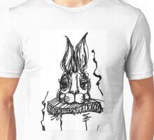 Jetzt geht's dem Hasen an den Kragen! Unisex T-Shirt