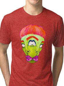 The Two-Faced Alien Tri-blend T-Shirt