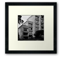Sirius Apartments, Sydney Framed Print