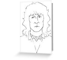 Chris Squire Greeting Card