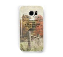 God blessses Samsung Galaxy Case/Skin