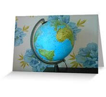 The Blue Planet Greeting Card