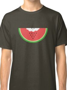 Cloud raining / eating watermelon Classic T-Shirt