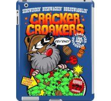 Cracker Croakers iPad Case/Skin