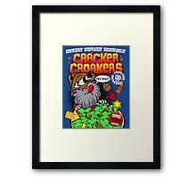 Cracker Croakers Framed Print