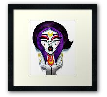 The Witch Alien Princess Framed Print