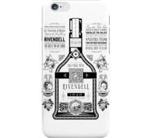 Lord of the Rings Rivendell Wine Vintage Geek Art iPhone Case/Skin