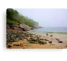 Sand Beach, Acadia Canvas Print
