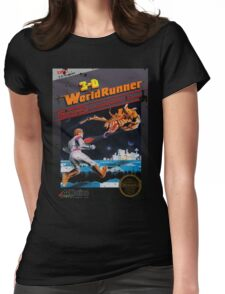 3D WORLDRUNNER VINTAGE Womens Fitted T-Shirt