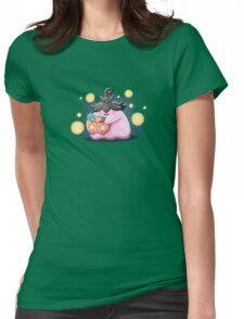 Doodle - Méta6iv Halloween Womens Fitted T-Shirt
