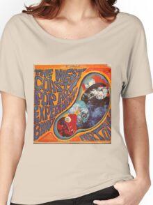 West Coast Pop Art Experimental Band, Acid Rock Women's Relaxed Fit T-Shirt