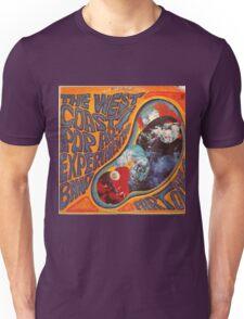 West Coast Pop Art Experimental Band, Acid Rock Unisex T-Shirt