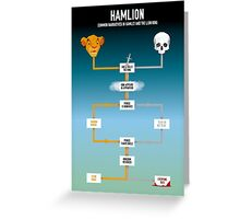 Hamlion Greeting Card