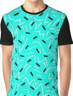 retro futuristic pattern Graphic T-Shirt