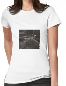 Dueling Pianos Womens Fitted T-Shirt