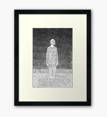 Fragile Masculinity Framed Print