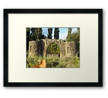 castle arch  Framed Print