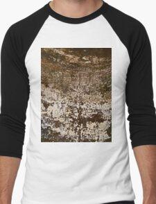 CORRODED (Damaged) Men's Baseball ¾ T-Shirt