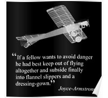 Joyce-Armstrong's advice on flying Poster