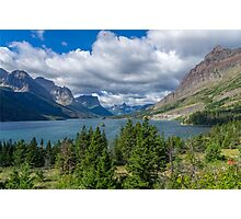 Saint Mary Lake Photographic Print