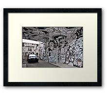 Street Art V Framed Print