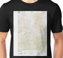 USGS TOPO Map California CA Callahan 20120217 TM geo Unisex T-Shirt