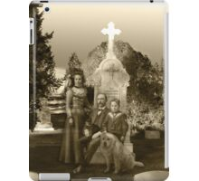 Ghostly Family and Their Beloved Pets iPad Case/Skin