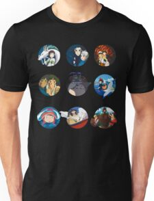 Studio ghibli movies (no filter) Unisex T-Shirt