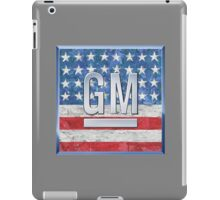 General Motors. iPad Case/Skin