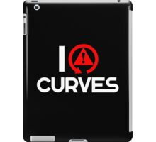 I love curves (6) iPad Case/Skin