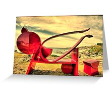 2016 Sculpture by the Sea 07 Greeting Card