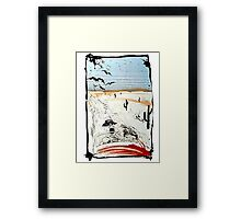 Fear and Loathing in LV Framed Print