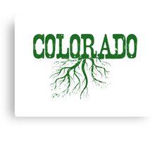 Colorado Roots Canvas Print