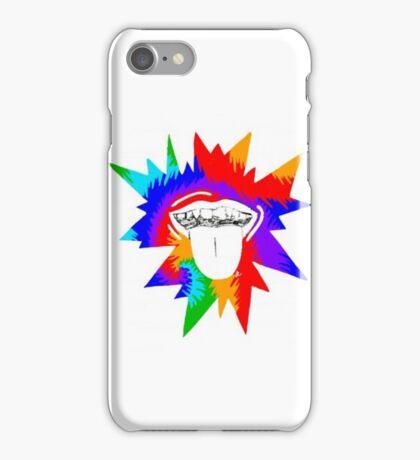 Tie-Dye Mouth iPhone Case/Skin