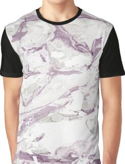 Purple marble Graphic T-Shirt