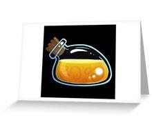 Yellow Elixir Greeting Card