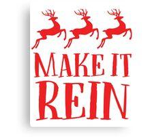 Make It Rein Canvas Print