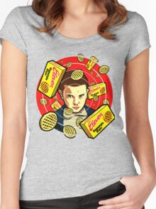 eleven hungry Women's Fitted Scoop T-Shirt