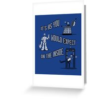 Reality is Cool Greeting Card