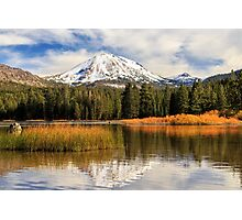 Autumn At Mount Lassen Photographic Print