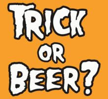 Trick or Beer by shirtual