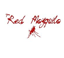 Red Mosquito Photographic Print